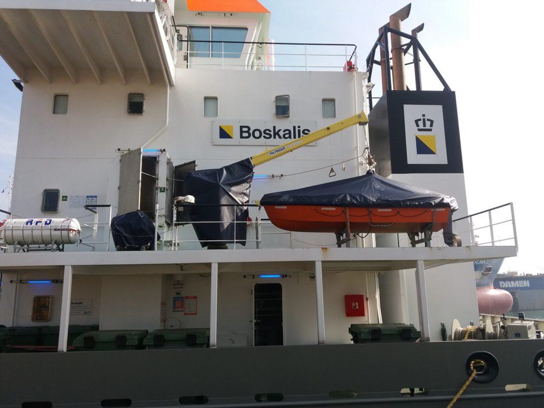 Diverse werkzaamheden bij Boskalis